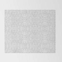 White Lace Throw Blanket