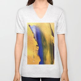 Abstract3 Unisex V-Neck