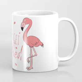 Flamingo Gifts Costume Dress Clipart Flocked Up Coffee Mug