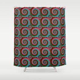 Swirls and Counterswirls #1 Shower Curtain