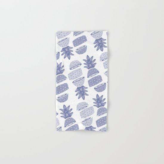 Pineapples (Light/Sliced) Hand & Bath Towel