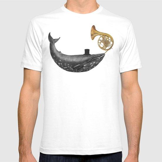 Whale Song - colour option T-shirt