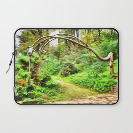 Mysterious Forest, Sintra (Portugal) Laptop Sleeve