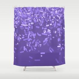 Sprinkle Utra Violet Shower Curtain