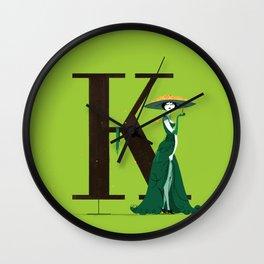 Klotilde & Walbaum Wall Clock
