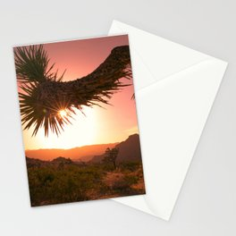 Mojave Golden Hour Stationery Cards
