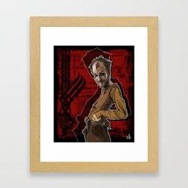 Floki Framed Art Print