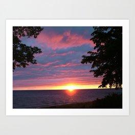 Sunset Pic 1 Art Print