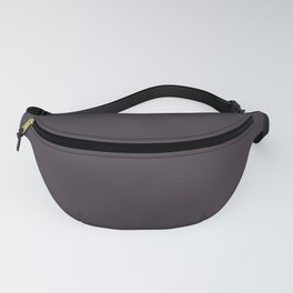 Deep Wine Red Brown Solid Color Pairs To Benjamin Moore Tulsa Twilight 2070-10 Fanny Pack