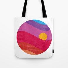 Pink Sunset Tote Bag