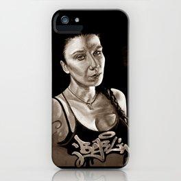 BERLIN - Kitty Kill - dark version iPhone Case