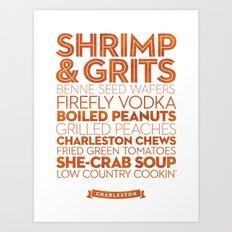 Charleston — Delicious City Prints Art Print