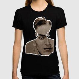 Frida Kahlo - sepia T-shirt
