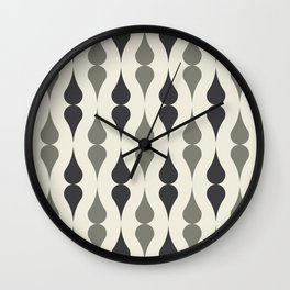 Remington in Charcoal Wall Clock