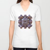 totem V-neck T-shirts featuring Totem by Lyle Hatch