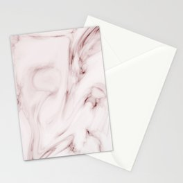 Red marble pattern Stationery Cards