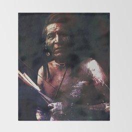Bow and Arrow Throw Blanket