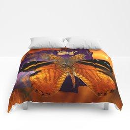 Honey Butterfly Comforters