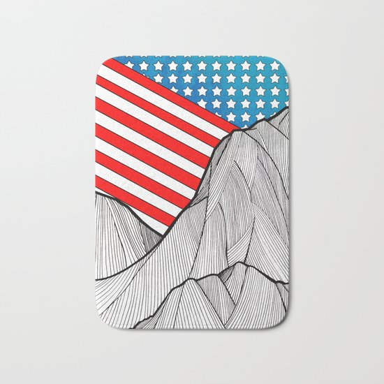 American Mounts Bath Mat