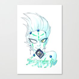 yu-gi-oh zexal: astral Canvas Print