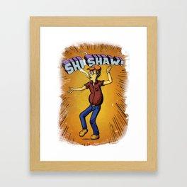 Dale Gribble Master of Shi Shaw Kung Fu Framed Art Print
