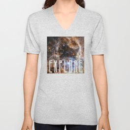 Explore - Space and the Universe Unisex V-Neck