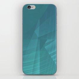 Mystical Blue iPhone Skin