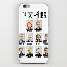 X FILES iPhone & iPod Skin