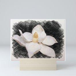 Beautiful Magnolia Flower in Full Bloom Mini Art Print
