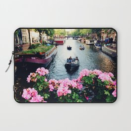 in love with Amster  Laptop Sleeve