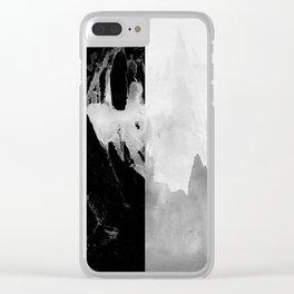 Dark Cloud Clear iPhone Case