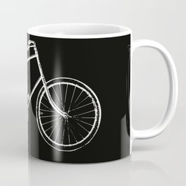 Bike on black Coffee Mug