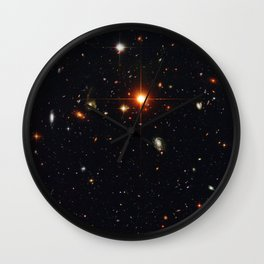 Field of Galaxies Wall Clock