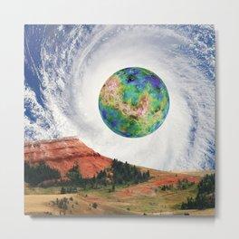 Rouge Planet Metal Print