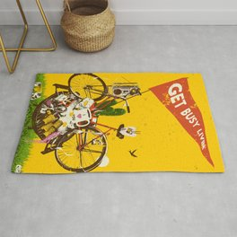 GET BUSY LIVIN Rug