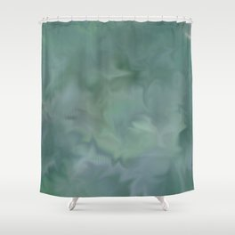 Abstract 749 Shower Curtain
