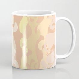 BRIGHT MARBLED STRIPES TEXTURE Coffee Mug
