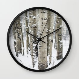 Forest of Serenity Wall Clock