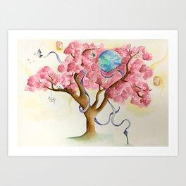 Peace Treety Art Print