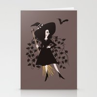 poison ivy Stationery Cards featuring Poison Ivy by Reimena Ashel Yee