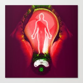 Body energy Canvas Print