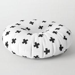 Swiss cross pattern Floor Pillow