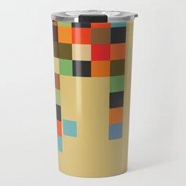 Mid Century Textile Series 1_2 Travel Mug