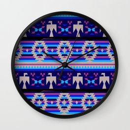 American Native Pattern No. 119 Wall Clock