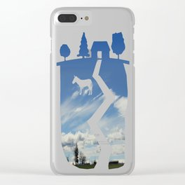 Tract Clear iPhone Case