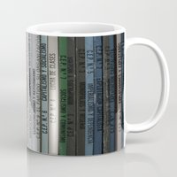 marx Mugs featuring Marx Lenin Engels Revolucion Socialismo by Sanchez Grande