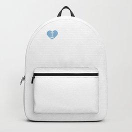 I Heart Starflowers | Love Starflowers - Ipheion uniflorum Backpack