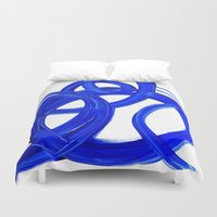 matisse Duvet Covers featuring MATiSSE by Linnea Heide