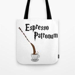 Espresso Patronum design Tote Bag