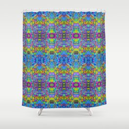 Klimt Tree of Life Mandala Shower Curtain
